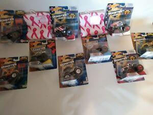 Hot Wheels MONSTER JAM ultimate set(Lot of9)&bonus FUNDER Gift see pics for list