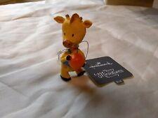 Hallmark Merry Miniatures 2016 Giraffe Basketball Player Nwt