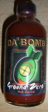 Da' Bomb Ground Zero - Hot Spicy Chilli Sauce Over 320,000 Scoville  *Brand New*