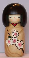 Japanese Kokeshi Doll | Cherry Blossom | Traditional Japanese Doll