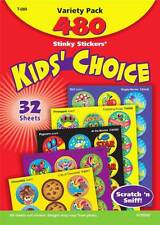 480 gratta e sniffa profumata Reward Adesivi-Kids Scelta Varietà Pack N' &