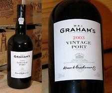 2003er Graham's Vintage Port - Magnum - Monster Port