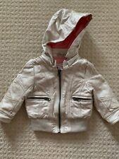 Pumpkin Patch Infant Girls Faux Leather Jacket 6-12 Months