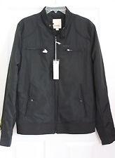 NWT DIESEL Jeffir mens jacket light weight nylon black M Medium $230