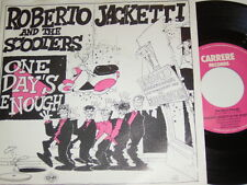 """7"""" - Roberto Jacketti & The Scooters One Day´s enough - 1985 # 4874"""