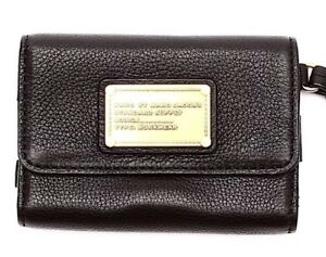 Marc By Marc Jacobs Women's Black Workwear Wristlet Wallet 4303