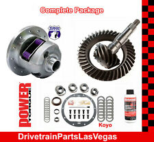 "Yukon Dura Grip Posi Pkg GM 8.5"" 3.73 Ratio Gear Set Master Rebuild Kit 89 TO 99"