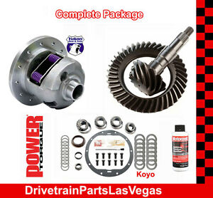 "Yukon Dura Grip Posi Pkg GM 8.5"" 4.56 Ratio Gear Set Master Rebuild Kit 89 TO 99"