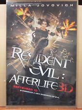 Resident Evil After life 3D Milla Jovovich vintage movie Poster 11357