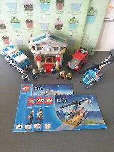LEGO City Police Museum Break in 60008 - 100% Complete set