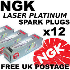 12x NGK Platinum SPARK PLUGS BENTLEY CONTINENTAL GT 6.0 lt All 03--> No. 5965