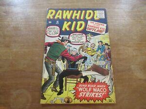 RAWHIDE KID #18 ATLAS SILVER AGE HIGH GRADE STAN LEE STORY & 2ND JACK KIRBY ART