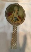 Vintage Hand Mirror Childs Kids Plastic Vintage Dress Up Antique Victorian Lady