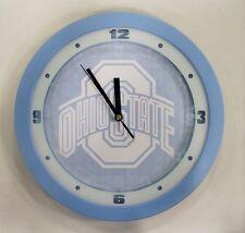 "Ohio State University Buckeyes 12"" College Plastic Round Wall Clock  by Suntime"