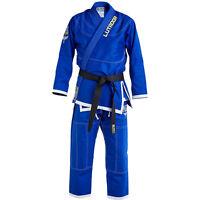 Blitz Kids Lutador Brazilian Jiu Jitsu Gi - Blue - BJJ Uniform Suit Training