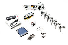 Kit Completo Hardware Guitarra Telecaster - Full Chrome Hardware Set TL Guitar