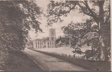 Fountains Abbey Postcard Vintage