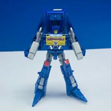 Transformers action figure robot toy Hasbro 2005 Thundercracker blue plane jet