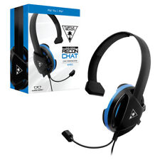 CUFFIE TURTLE BEACH RECON CHAT WIRED CUFFIA GIOCO PS4 PS4/PRO STEREO MICROFONO