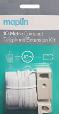 Maplin 10 Meter Compact Telephone Extension Kit BNIB