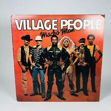 Village People Macho Man Vinyl Record Casablanca Autographed
