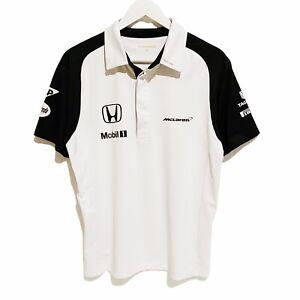 Honda McLaren Formula One Team F1 Polo Shirt Mens Medium