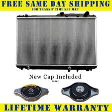Radiator With Cap For Lexus Toyota Fits Camry Es300 3.0 V6 6Cyl 1303WC
