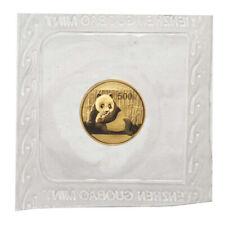 2015 20 Yuan Gold Chinese Panda 1 g BU Sealed