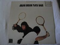 JULIAN BREAM PLAYS BACH VINYL LP 1970 ABC WESTMINSTER GOLD RECORD SARABANDE VG+