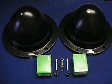 CLASSIC MINI TWO METAL HEADLAMP BOWLS / BUCKETS ---FREEPOST---