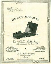 Publicité ancienne les parfums d'Isabey 1925 issue de magazine