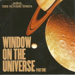 WINDOW ON THE UNIVERSE: PART ONE - PROMO PC CD-ROM (2001) ASTRONOMY / BNSC