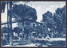 RAVENNA CERVIA 57 MILANO MARITTIMA Cartolina viaggiata 1957