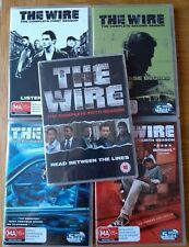 The Wire complete DVD box sets of seasons 1, 2, 3, 4 & 5