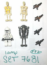 LEGO Set 7681 Super Battle Droid Commander Clone Trooper Minifigure yellow 75021