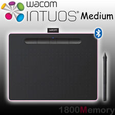 Wacom Intuos Creative Pen Tablet with Bluetooth Wireless Medium Berry CTL-6100WL