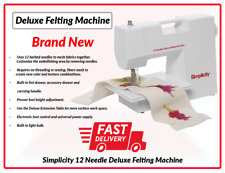 Felting Machine Simplicity Deluxe Felting Machine RRP £199.99 Fast Deliver UK