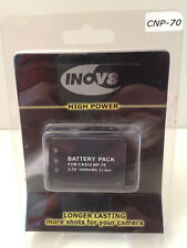 Inov8 Casio NP-70 Rechargeable  Lithium Digital Camera Battery 1050mAh 3.7v   C3