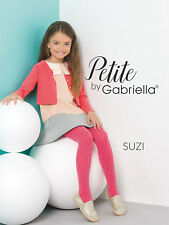 Nylonandmore Gabriella Medias de los Niños Chica Medias Niñas 744 Suzi Petite