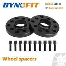 20mm 5x100/5x112 Hub Centric Wheel Spacers For Audi Volkswagen + 10pcs Lug Bolts