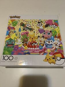 Pokemon Birthday Party 100 Pc Puzzle By Buffalo Games Official