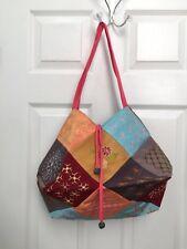 Handmade Custommade Trimmed Craft Embroidery Lightweight Hobo Shoulder Bag Purse