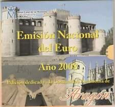 Spanje BU set 2008 / 1 cent - 2 euro KMS - Aragon