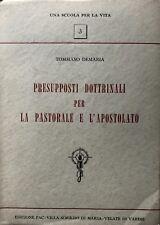 TOMMASO DEMARIA PRESUPPOSTI DOTTRINALI PASTORALE E APOSTOLATO FAC-VILLA MARIA 58
