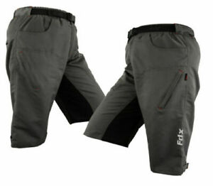 MTB Off Road Cycling short Clickfast Inner Liner Coolmax? Padded Cycle  Short