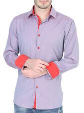 Cowboy Shirt Long Sleeve Centenario Grey/Orange