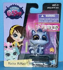 #3750 Littlest Pet Shop Singles Combo PET PAWSABILITIES Mackie McMask