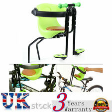 Bicycle Bike Front Seat Safety Stable Baby Child Kids Chair Carrier Sport Green