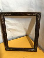 "Vintage Victorian Inlaid Frame Fits 9"" by 11"" Painting"
