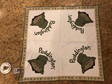 Paddington Bear Burp Cloth By H&M Brand New
